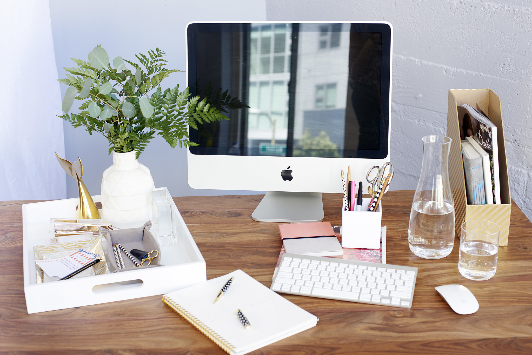 How Your Cluttered Desk Could Be Keeping You From Working Out