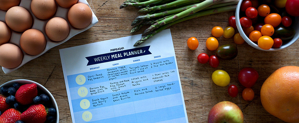Start Your Week Off Right With a Printable Meal Planner