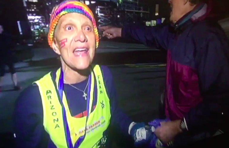 This Woman's 9-Hour Boston Marathon Run Will Inspire You