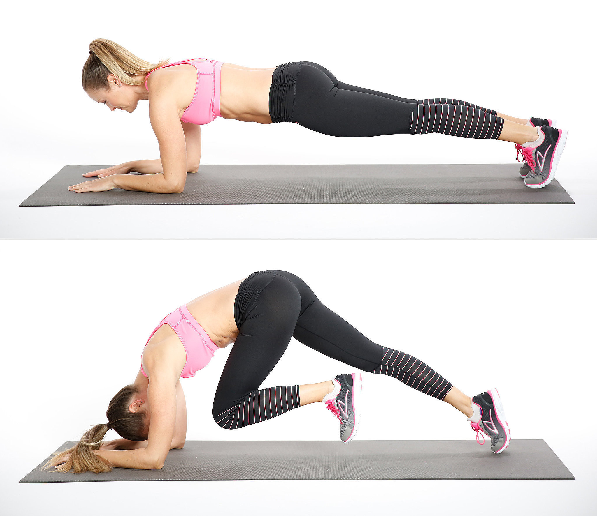 Work Your Abs and Your Shoulders in This Killer Plank Variation
