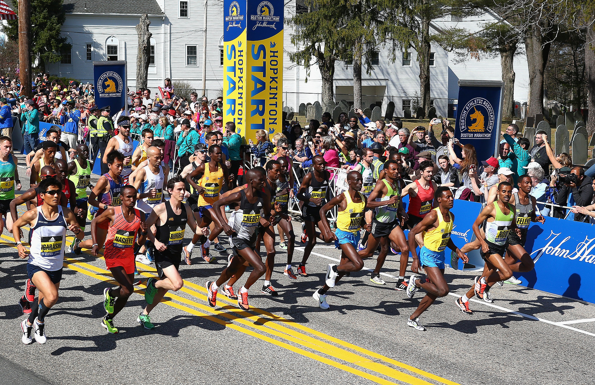 Congratulations to All the Winners of the Boston Marathon