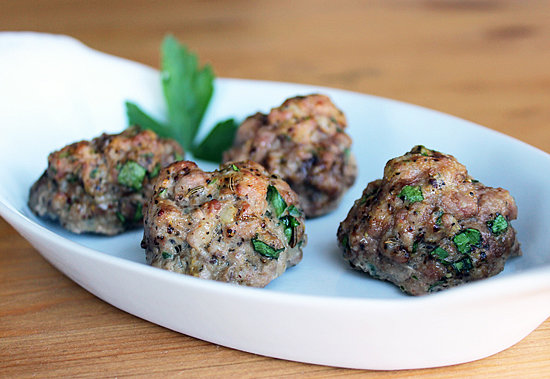 Paleo Perfect: Baked Meatballs