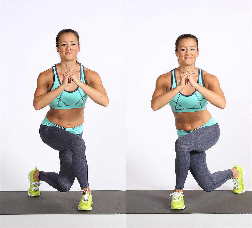 The Lunge Variation That Adds Lift to Your Butt