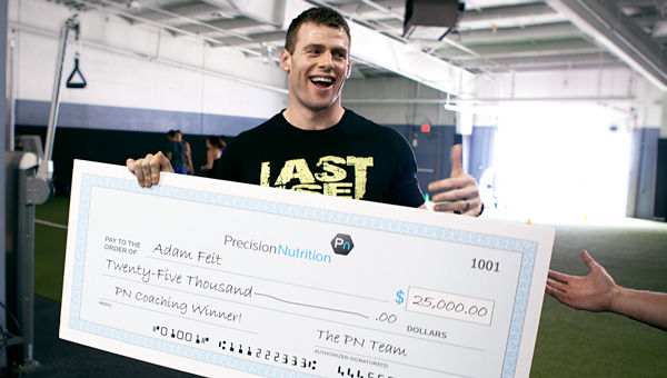 Why Precision Nutrition has given away more than $1 million dollars in prize money. And why we'll give away millions more.