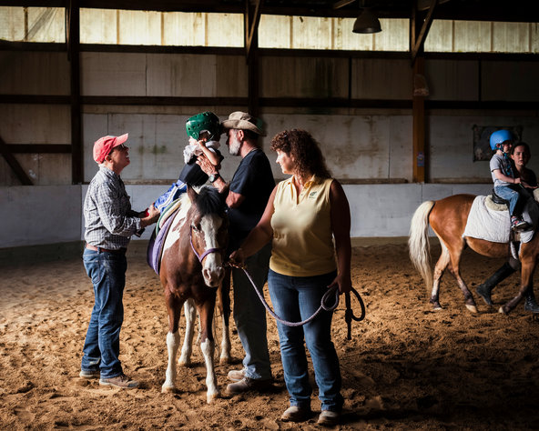 Well: With Hippotherapy, the Horse Provides the Therapy