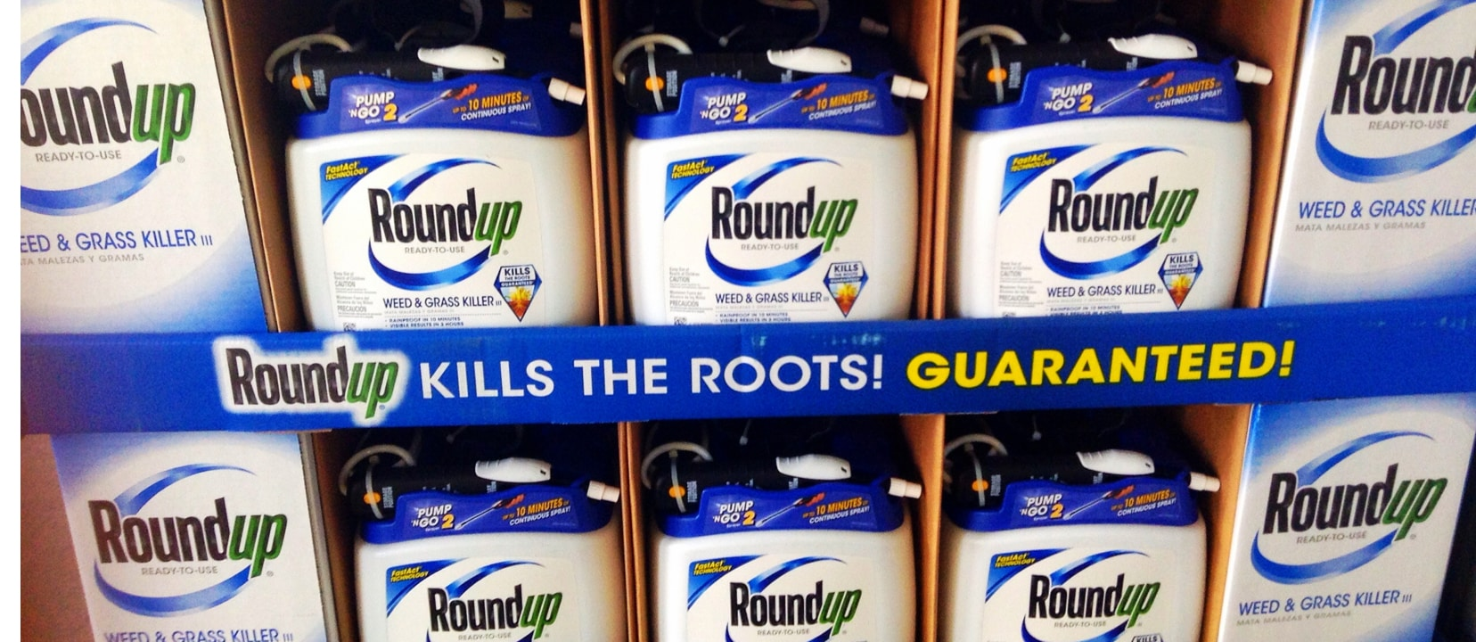 Is Monsanto's Roundup Pesticide Glyphosate Safe?