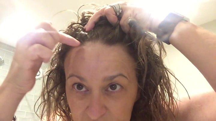 Loose Women's Nadia Sawalha on losing her hair